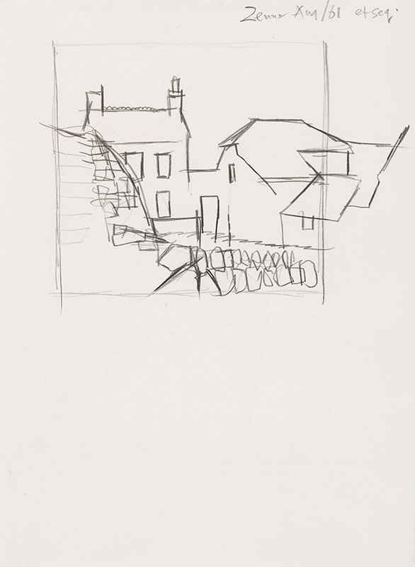 VAUGHAN Keith (1912-1977) - Cornwall.