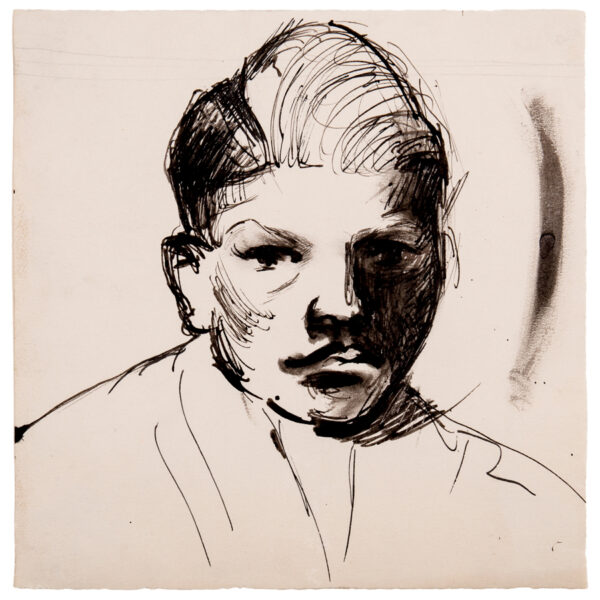 VAUGHAN Keith (1912-1977) - Head of a boy.