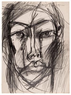 VAUGHAN Keith (1912-1977) - 'Konig-Tranen'.