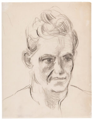 VAUGHAN Keith (1912-1977) - Head of a young man.