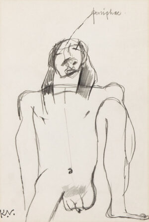 VAUGHAN Keith (1912-1977) - 'Persiphae'.