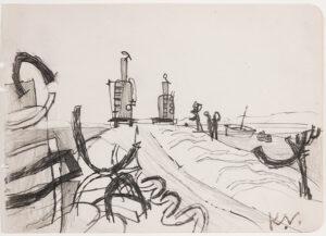 VAUGHAN Keith (1912-1977) - Pencil.