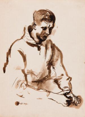 VAUGHAN Keith (1912-1977) - 'January 31st, 1942'.