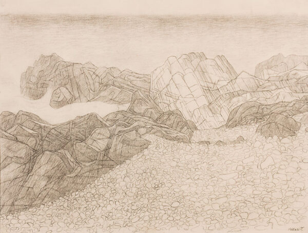 VELLACOT Elisabeth (1905-2002) - 'Rocks'.