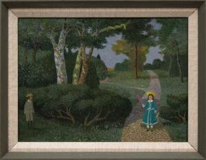 VERNEY Sir John M.C. (1913-1993) - A Garden of Eden.