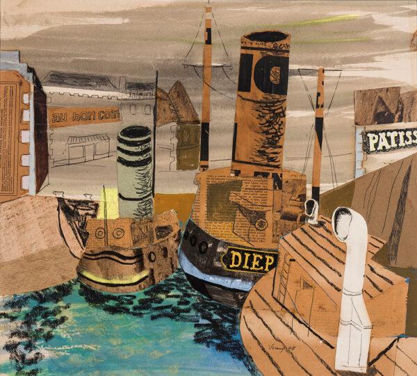 VERNEY Sir John (1913-1993) - 'French Harbour'.