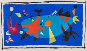 VERNEY Sir John M.C. (1913-1993) - 'Toys at Night'.