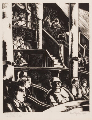 VEZELAY Paule (Marjorie Watson-Williams) (1892-1984) - 'At the Cirque Medrano, Paris'.