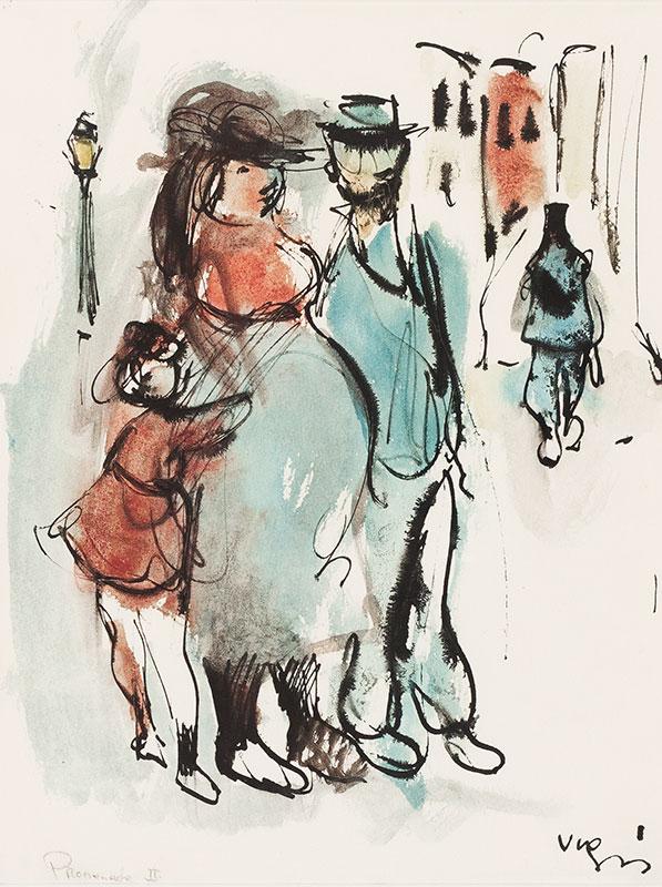 VIGNY Andre (1902-1970) - 'Promenade II'.