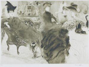 VILLON Jacques (1875-1963) - 'Le Potin' (G & P.