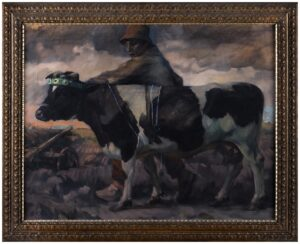 VOGT Georg (1881-1940) - The Friesian Cow.