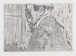 VUILLARD Edouard (1868-1940) - Portrait of Theo Van Rysselberghe.