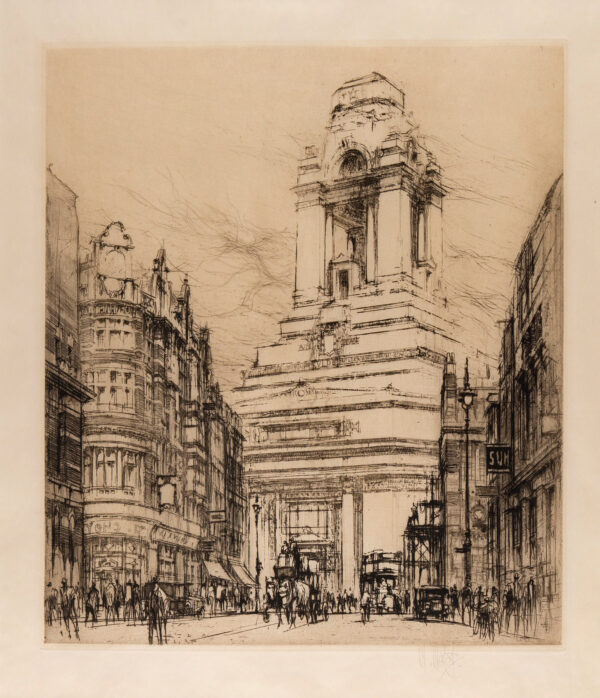 WALCOT William R.E. (1874-1943) - Port of London Authority Building.