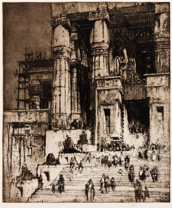 WALCOT William R.E. (1874-1943) - 'Anthony in Egypt, No.