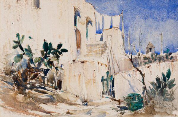 WALCOT William R.E. (1874-1943) - 'Capri'.