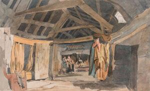 ANON (Nineteenth Century) - Welsh Interior.