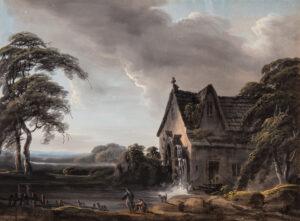 WALMSLEY Thomas (1763-1805) - 'Melincourt Mill, S.