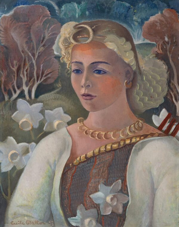 WALTON Cecile (1891-1956) - 'Diana'.