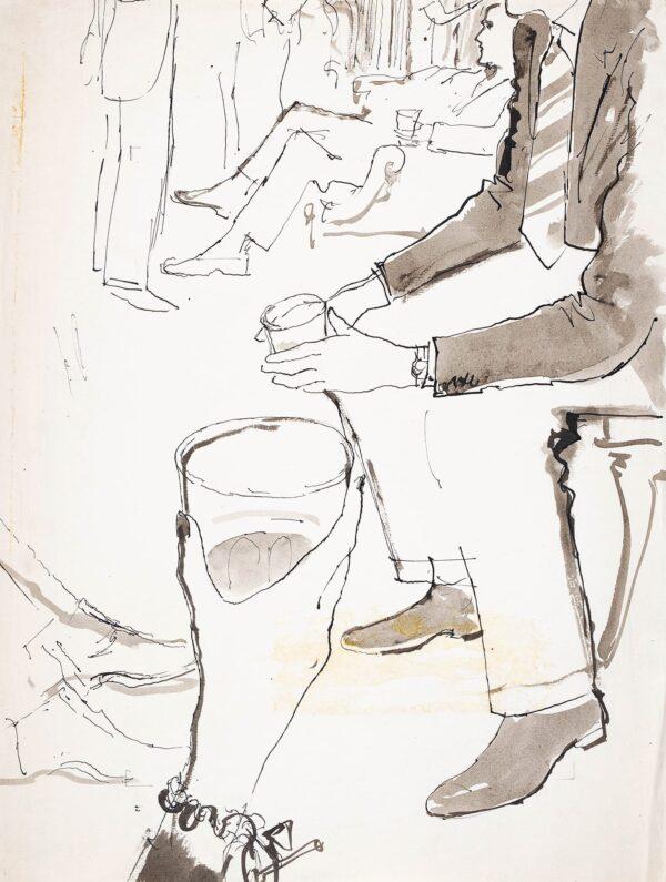 WARD Stanton John (1917-2007) - A Glass of Whisky.