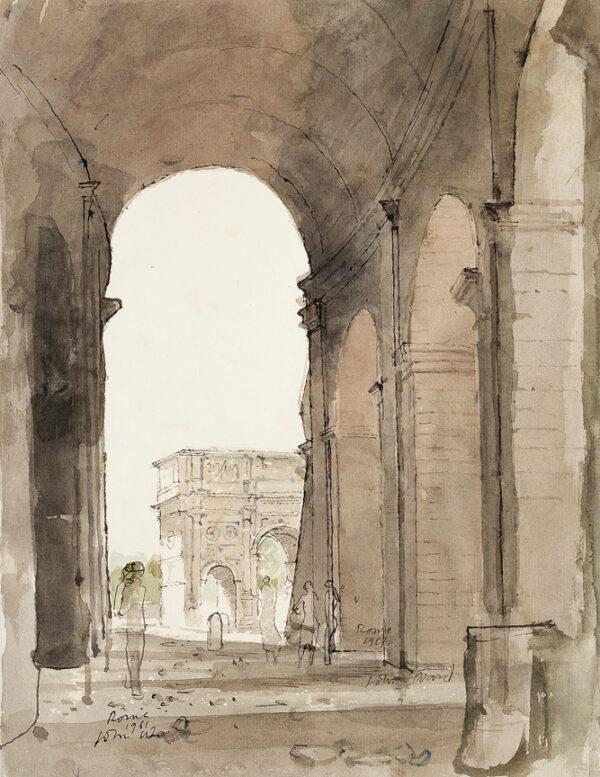 WARD John Stanton C.B.E. (1917-2007) - 'Rome'.