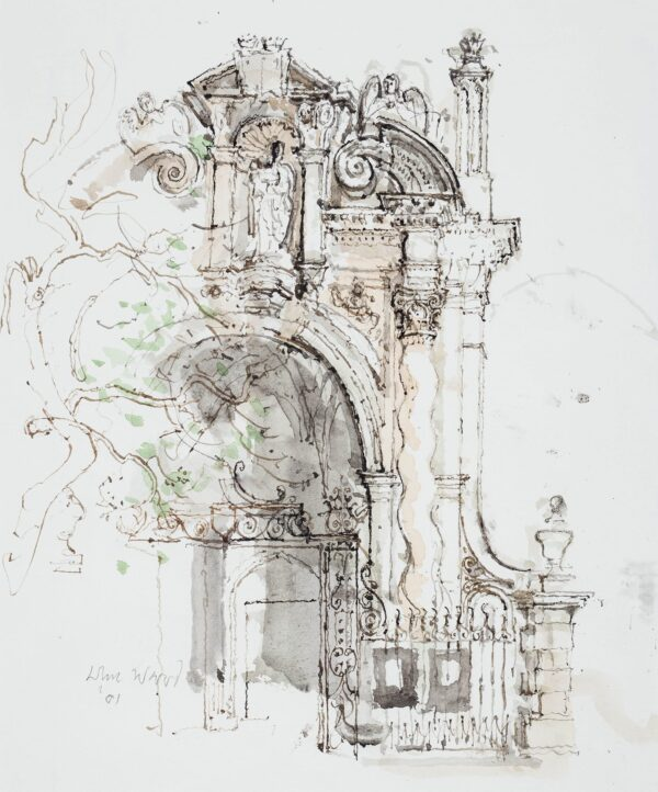 WARD John Stanton C.B.E. (1917-2007) - Baroque Entrance.