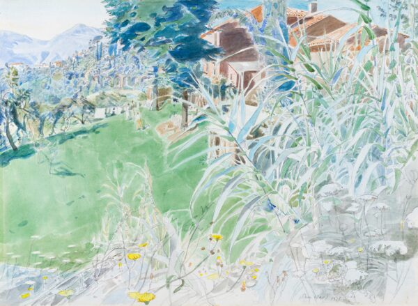 WARD John Stanton C.B.E. (1917-2007) - Tuscan Farm.