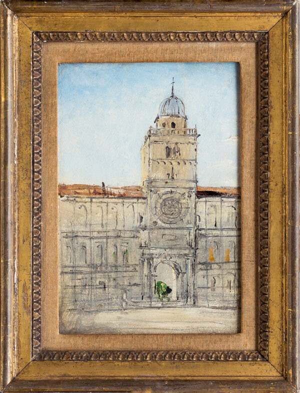 WARREN William White (1832-c.1912) - Palazzo del Capitanio, Padua.