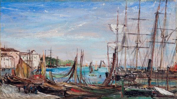 WARREN William White (1835-1915) - The Riva Schiavoni, Venice.
