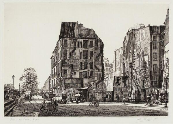 WASHINGTON William (1885-1956) - 'Quai de Conti, Paris'.