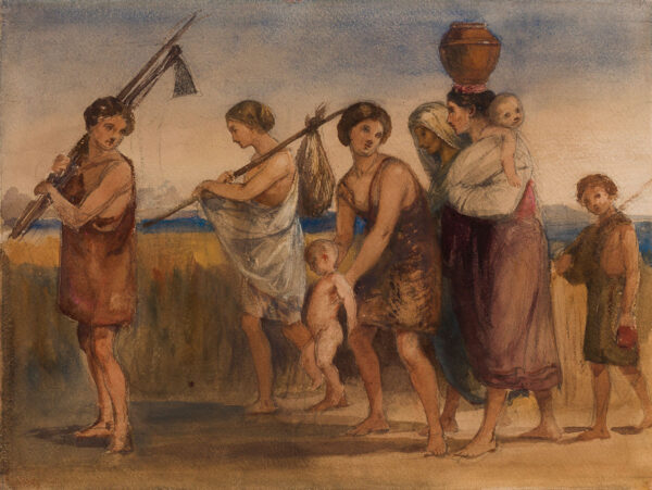 WATERFORD Louisa Marchioness of (1818-1891) - The return of the Harvesters.