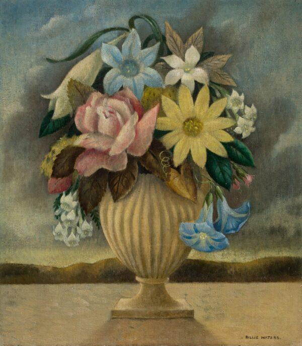 WATERS Billie (1896-1979) - 'Flower Piece'.