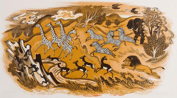 WEBB Clifford R.E. (1895-1972) - 'Safari'.