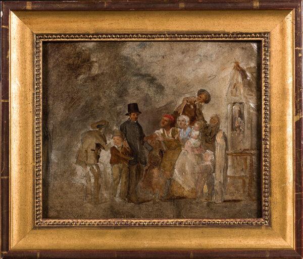 WEBSTER Thomas R.A. (1800-1886) - The Village Postman.