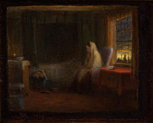 WEBSTER Thomas R.A. (1800-1886) - A Dawn Watch.