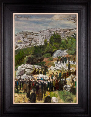 WEIGHT Carel R.A. (1908-1997) - 'The Sermon on the Mount'.