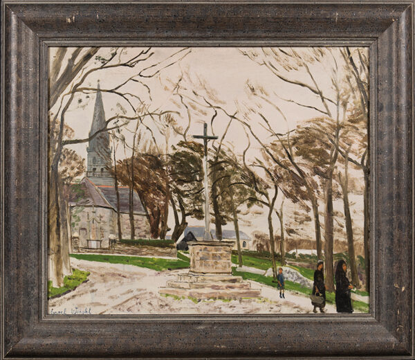 WEIGHT Carel C.H. R.A. (1908-1997) - 'Breton Calvary'.