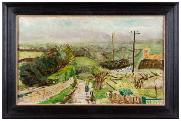 WEIGHT Carel C.H. R.A. (1908-1997) - 'Rain in the Country'.