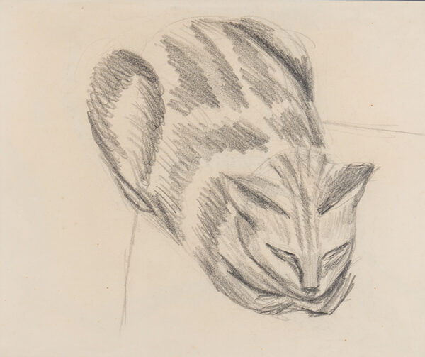 WELCH Denton (1915-1948) - Sleeping Cat.