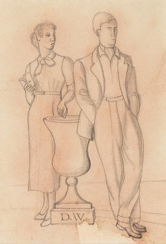 WELCH Denton (1915-1948) - The Couple.