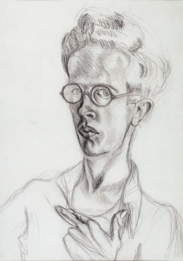 Denton Welch A.A.A. (1915-1948) - Self-portrait.