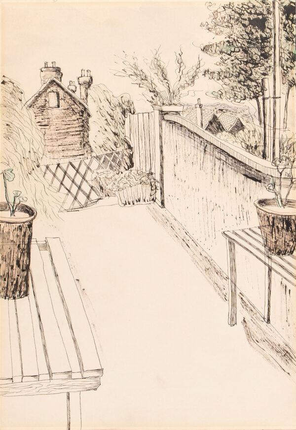 WELCH Denton (1915-1948) - The Back Garden.