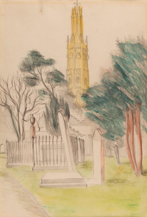 WELCH Denton (1915-1948) - Hadlow Tower, Kent.