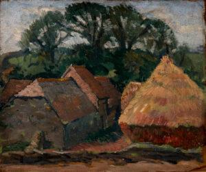 WELLINGTON Hubert (1879-1967) - 'Dorset Stacks, Corfe'.