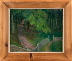 WELLINGTON Hubert (1879-1967) - Woodland Path, Dorset.
