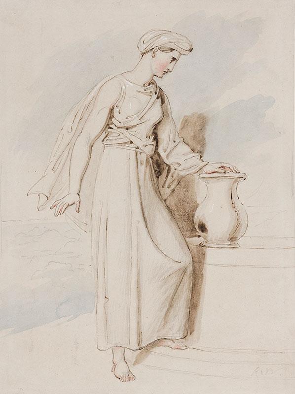 WESTALL Richard R.A. (1765-1836) - 'The Woman of Samaria'.
