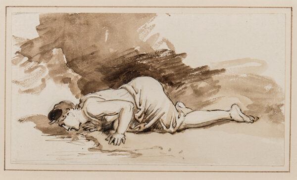 WESTALL William A.R.A. (1781-1850) - Narcissus.