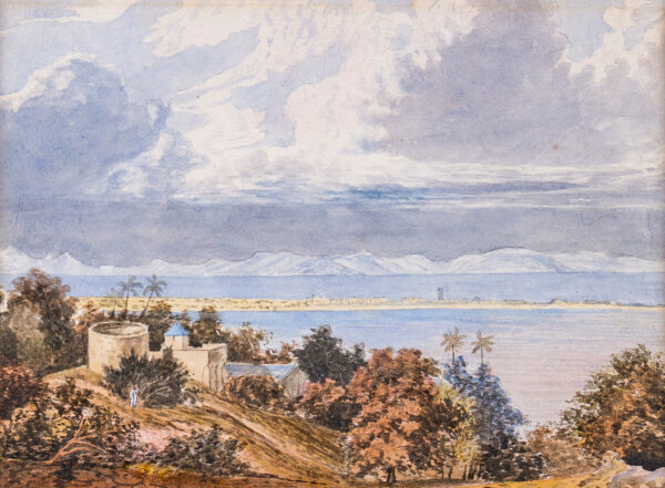WESTALL William A.R.A. (1781-1850) - 'Approach of the Monsoon, Bombay Harbour'.