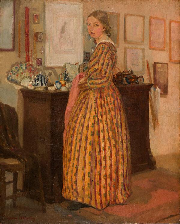 WHEATLEY Grace N.E.A.C. (1888-1970) - 'The China Cupboard'.