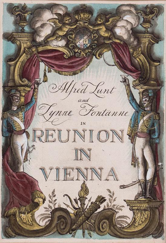 WHISTLER Rex (1905 - 1944) - 'Reunion in Vienna'.