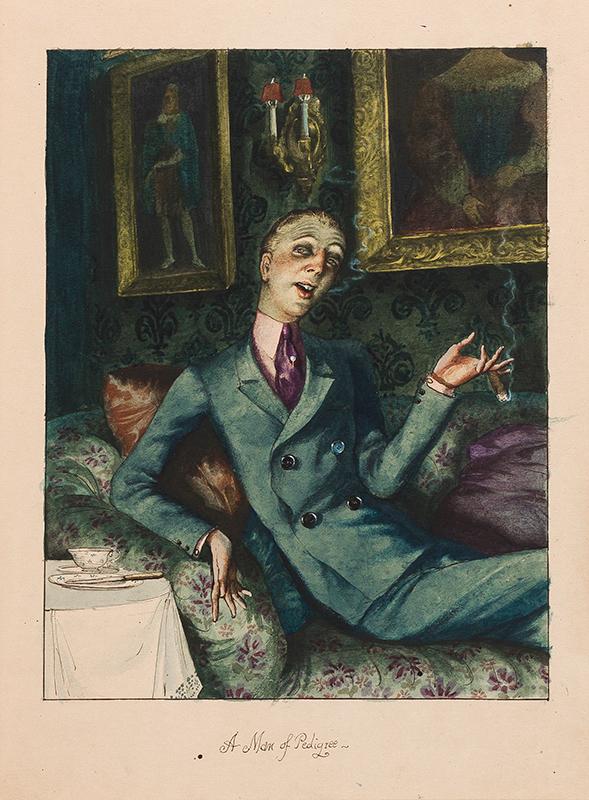 WHISTLER Rex (1905-1944) - 'A Man of Pedigree' (W&F.